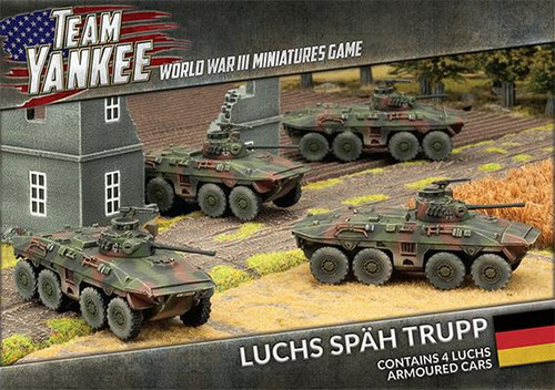 Team Yankee West German  Luchs Spah Trupp
