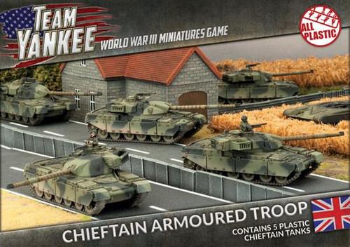 Team Yankee British Chieftain Armoured Troop