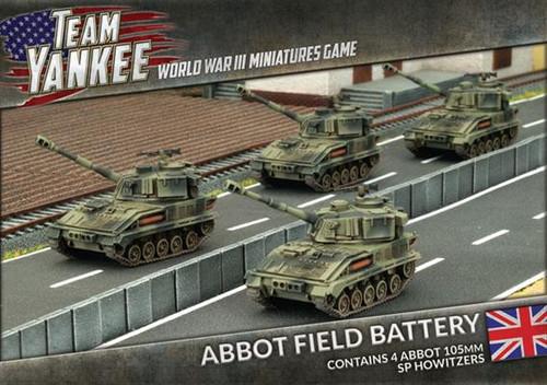 Team Yankee British Abbot Field Battery