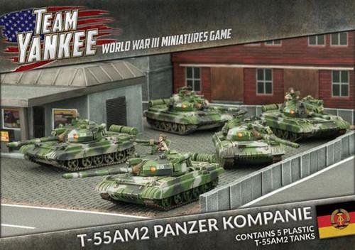 Team Yankee East German T-55 AM2 Panzer Kompanie