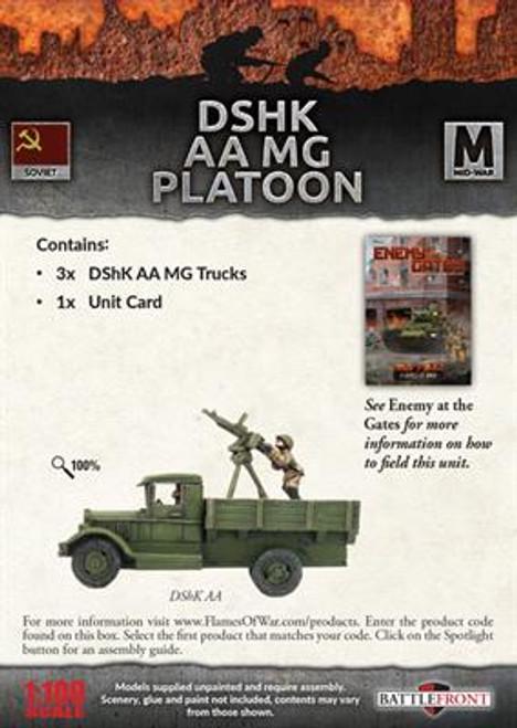 DShK AA MG Platoon - SBX38