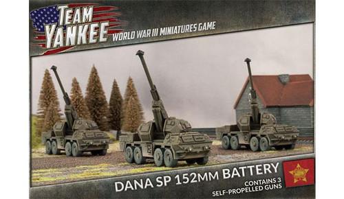 Team Yankee DANA SP 152mm Battery