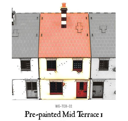Pre-painted Mid Terrace House