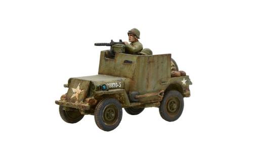Bolt Action Army Armoured Jeep - 403213003