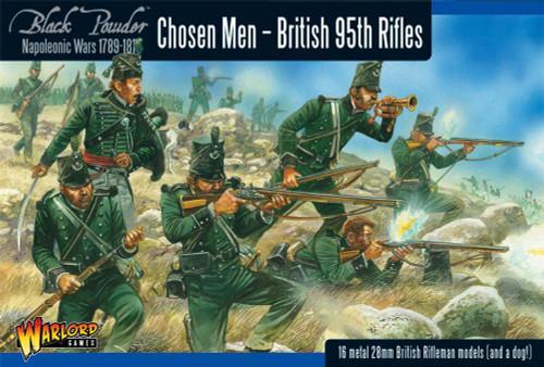 Chosen Men - British 95th Rifles - WGN-BR-04