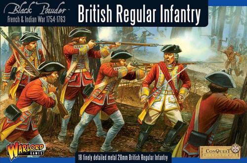 British Regular Infantry - WG7-FIW-02