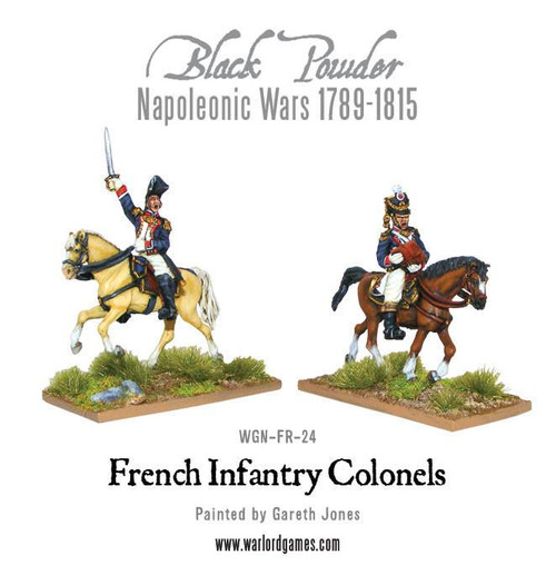 Mounted French Colonels  - WGN-FR-24