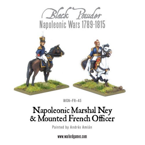 Marshal Ney & Mounted French Officer - WGN-FR-45