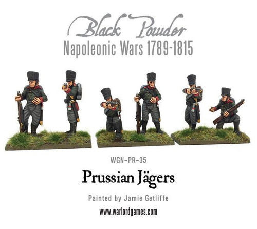 Black Powder WGN-PR-23 Prussian High Command Mounted Officers Napoleonic Wars