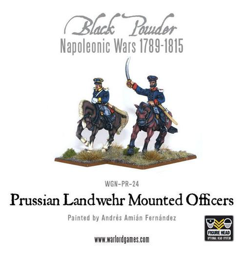 Prussian Mounted Officers - WGN-PRU-21