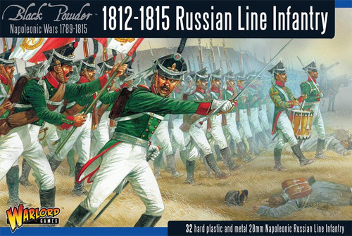 Russian Line Infantry (1812-1815) - WGN-RUS-02