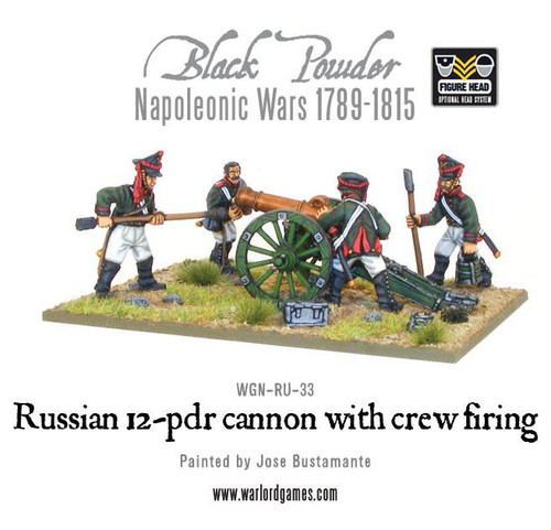 Russian 12 pdr cannon (1809-1815) - WGN-RUS-33