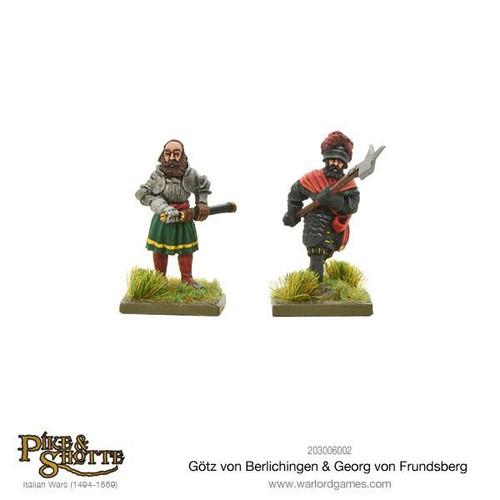 Götz Von Berlichingen & Georg Von Frundsberg - 203006002