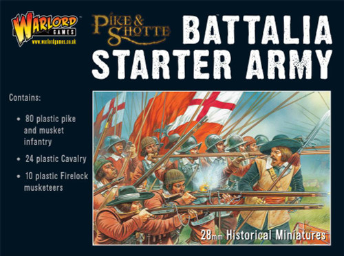 Battalia Starter Army Box (80 Inf, 24 Cav, 10 Firelocks) - WGA-PS-1