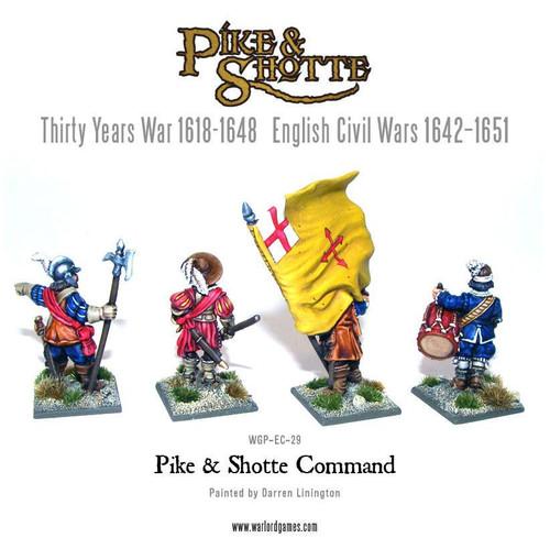 Pike & Shotte Command - WGP-CMD-01