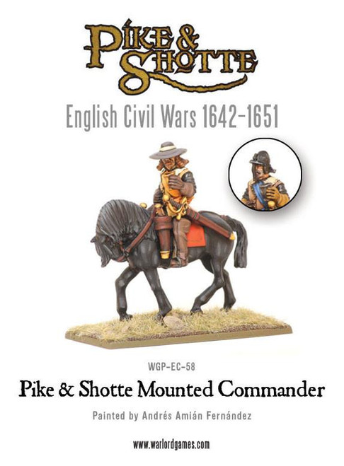 Pike & Shotte Mounted Commander - WGP-EC-58