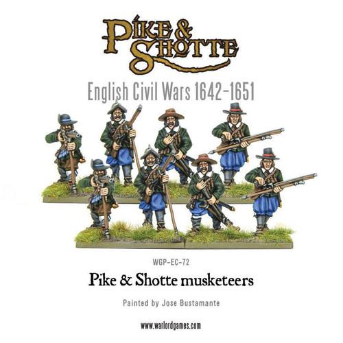 Pike & Shotte Musketeers - WGP-EC-72