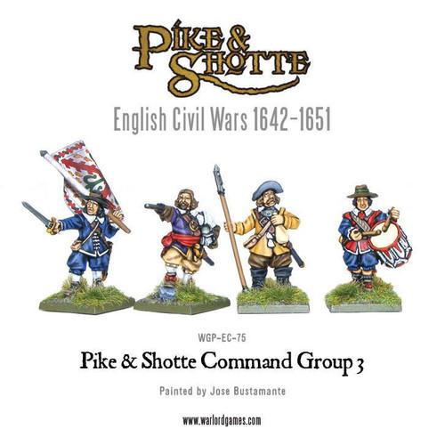 Pike & Shotte Command Group 3 - WGP-EC-75