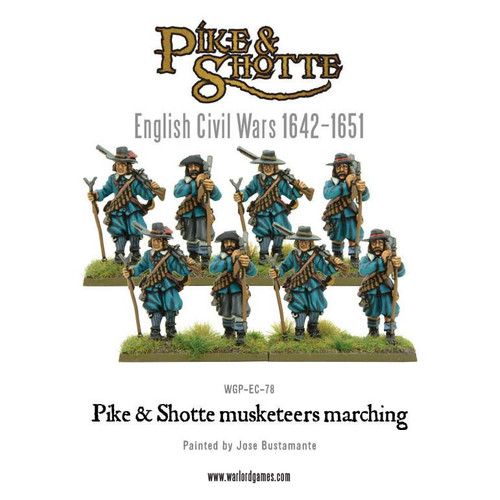 Pike & Shotte musketeers marching column - WGP-EC-78