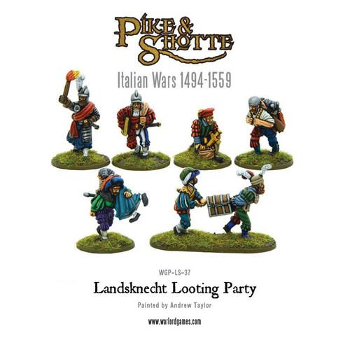 Landsknecht Looting party - WGP-LS-37