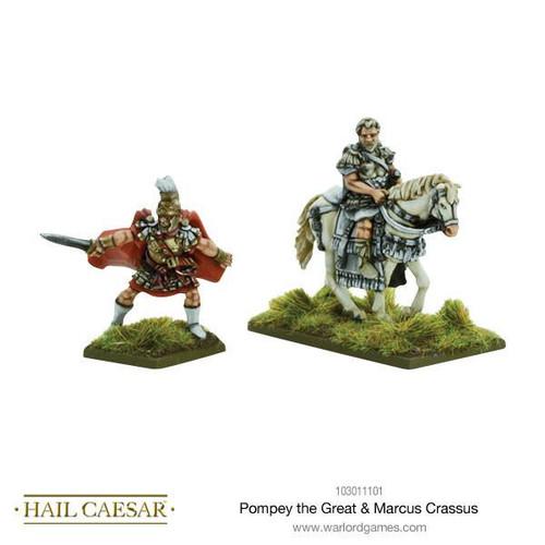 Pompey the Great & Marcus Crassus - 103011101