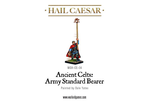 Celt Army Standard Bearer - WG-CE-STD-1