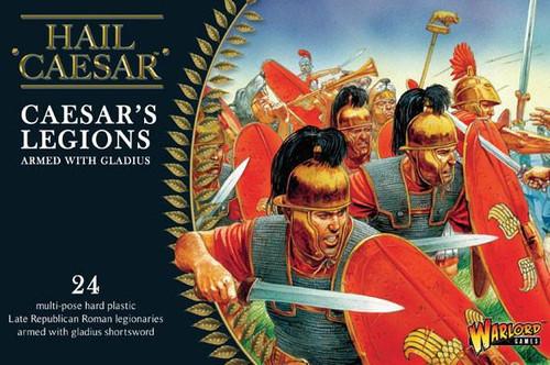 Caesarian Romans with Gladius - WGH-CR-01