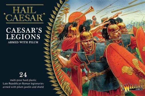 Caesarian Romans with Pilum - WGH-CR-02