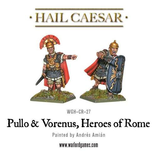 Caesarian - Pullo & Verenus, Heroes Of Rome - WGH-CR-27