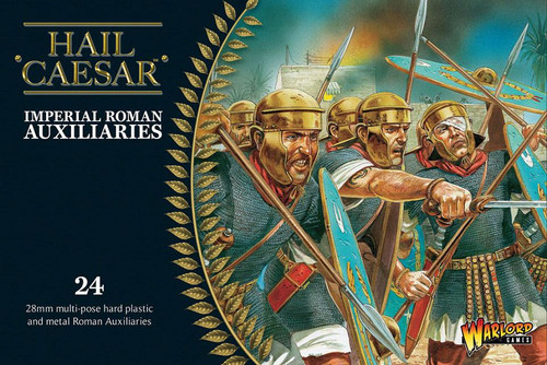 Imperial Roman Auxiliaries (20 plastic + 4 metal command) - WGH-IR-05