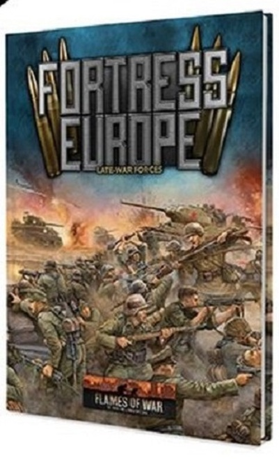 United States Late War Flames of War FW261U Fortress Europe Unit Cards
