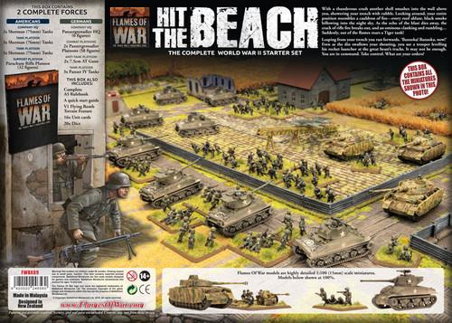 HIT THE BEACH - THE COMPLETE WORLD WAR II STARTER SET FWBX09