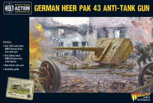 German Heer Pak 43 Anti-tank Gun - 402212008