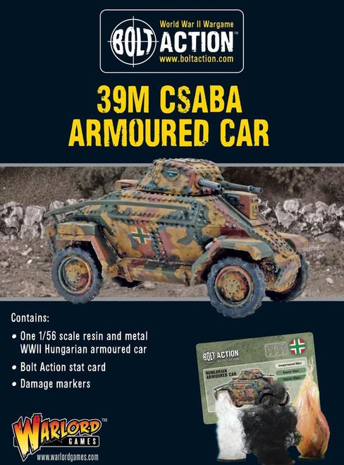 39M Csaba Armoured Car - 402417401
