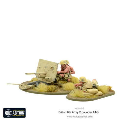 8th Army 2 pounder ATG - 403011012