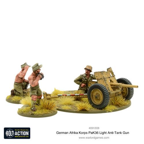 Afrika Korps Pak 36 light anti-tank gun - 403012028