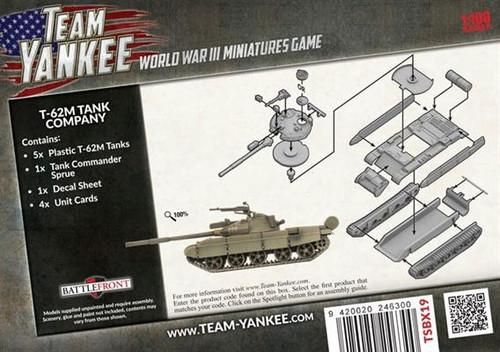 Soviet T-62M Tank Company TSBX19