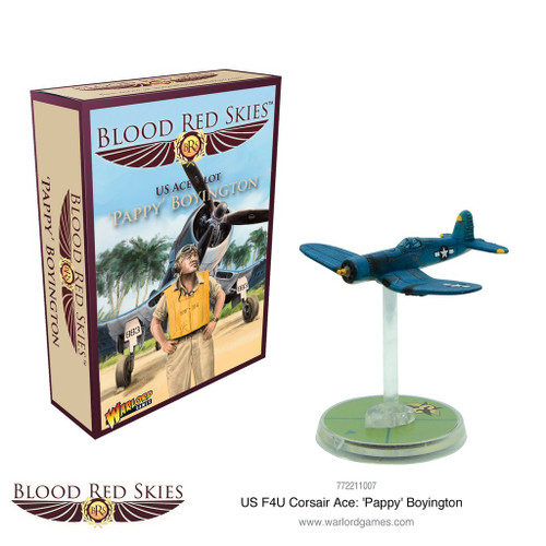 Blood Red Skies - 'Pappy' Boyington, US ACE Pilot - 772211007
