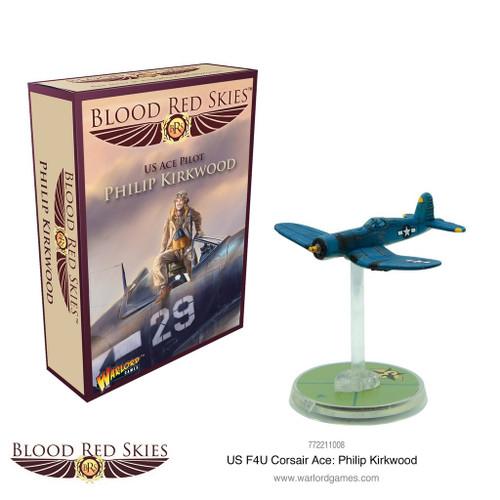 Blood Red Skies - Philip Kirkwood, US ACE Pilot - 772211008