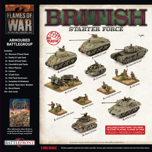 BRITISH ARMOURED BATTLEGROUP Army Deal BRAB12