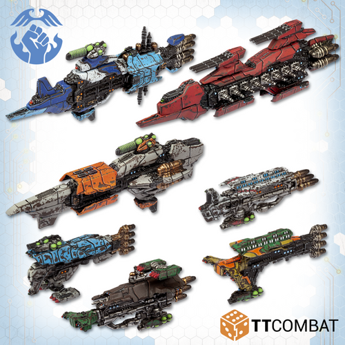 Resistance Starter Fleet TTDFX-RES-001