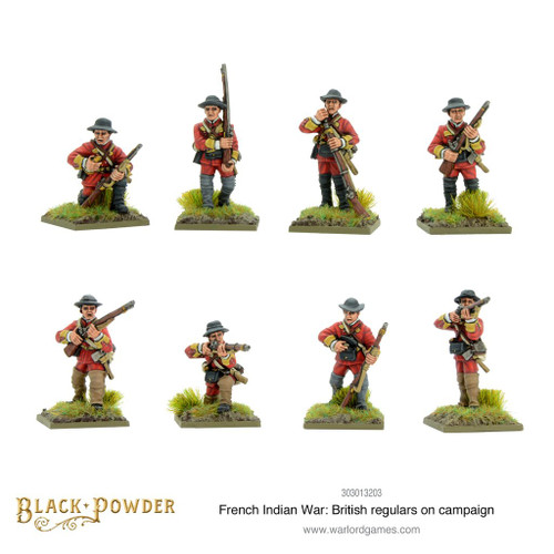 British Regulars on Campaign - 303013203