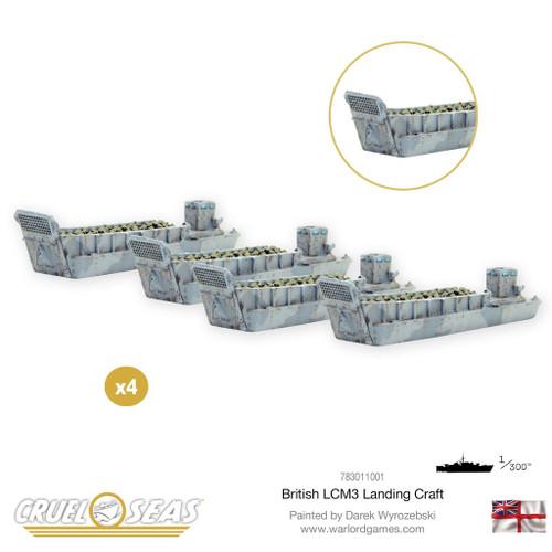 British LCM3 Landing Craft - 783011001