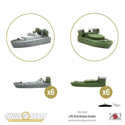 Japanese Kamikaze Boats - 785012004