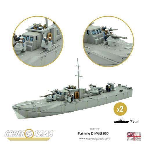 British Fairmile D class MGB 660 - 785101002