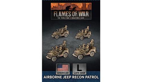 Airborne Jeep Recon Patrol - UBX65