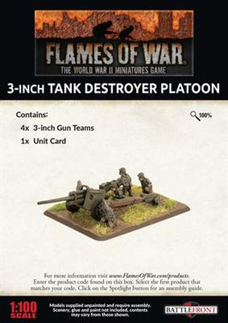 3 Inch Tank Destroyer Platoon - UBX80