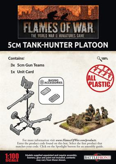 5cm Tank-Hunter Platoon Late - GBX144