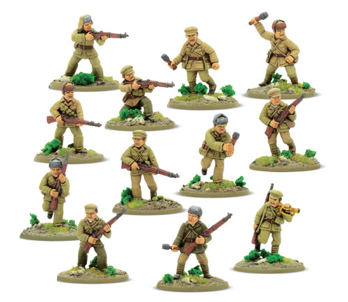 Chinese PVA Conscript Squad - 412218502