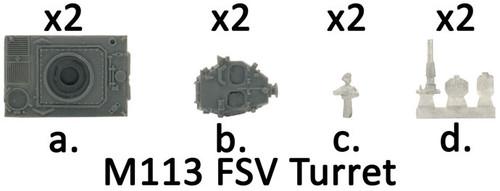 M113 FSV Turrets - VAN242